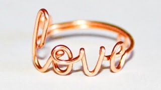 "getlinkyoutube.com-DIY: 3 ""Love Ring"" Styles"