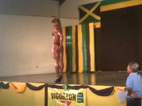 JAMAICA'S TOP FEMALE BODYBUILDING & FITNESS CHAMPION 2011