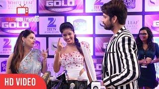 Deepika Singh, Kanika Maheshwari and Vishal Singh At Zee Gold Awards 2016