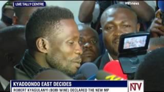 Bobi Wine wins Kyadondo East by-election
