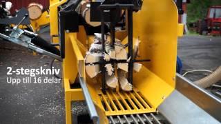 getlinkyoutube.com-2013 KUBIK2 Vedfabrik - Effektiv vedmaskin för produktion av brasved. Firewood processor - Brennholz