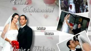 getlinkyoutube.com-menu animado de casamento - Denize e Fabricío
