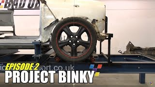 getlinkyoutube.com-Project Binky - Episode 2 - Austin Mini GT-Four - Turbo Charged 4WD Mini