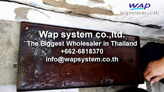 High Pressher washer 500 Bar Rust removal testing