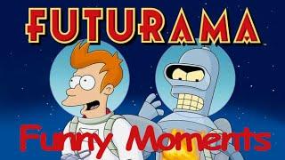 getlinkyoutube.com-Futurama Funny Moments || Futurama Best Moments-Fry,Amy,Hermes,Farnsworth,Zoidberg,Bender and Leela