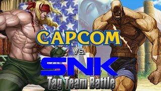 getlinkyoutube.com-Capcom vs. SNK Tag Team System M.U.G.E.N: w/ Alex & Sagat Team Arcade