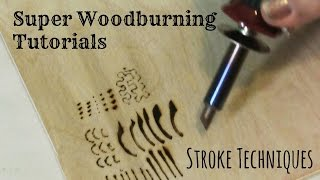 getlinkyoutube.com-Wood Burning  - Stroke Techniques and Tutorial