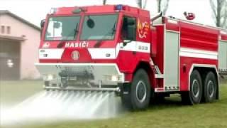 getlinkyoutube.com-TATRA  tűzoltó gépjármű