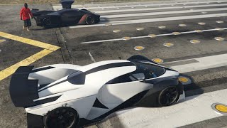 getlinkyoutube.com-GTA V Online - DE GROTTI X80 PROTO DRAG RACE ! (GTA 5 Multiplayer #82)
