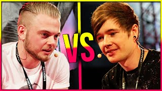 getlinkyoutube.com-SQUID VS. DANTDM | Gaming Showdown LIVE!!