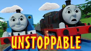 getlinkyoutube.com-TOMICA Thomas & Friends Short 40: Unstoppable (The Adventure Begins Chase & Crash Parody)