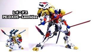 getlinkyoutube.com-【ライオコンボイ】っぽい人 レオニダス レビュー PerfectEffect PE-DX05 - Leonidas review
