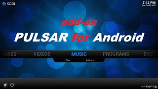getlinkyoutube.com-SOLUCION add-on PULSAR en Android - Instalar Addon Pulsar en Kodi / Xmbc