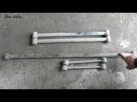 Замена резинок реактивных тяг ВАЗ 2101-2107