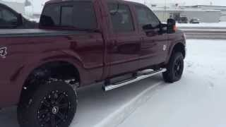 getlinkyoutube.com-Custom Tuned 2015 ford 6.7 Powerstroke - New Exhaust and Other Goodies
