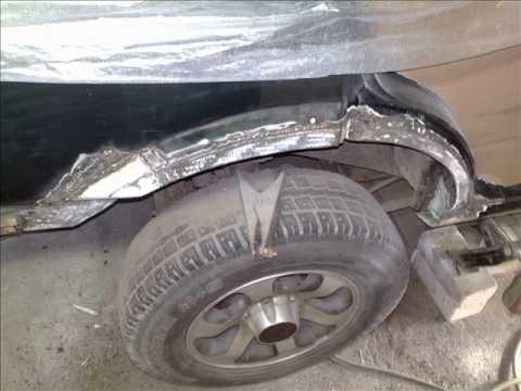 Opel Frontera B body repair/welding