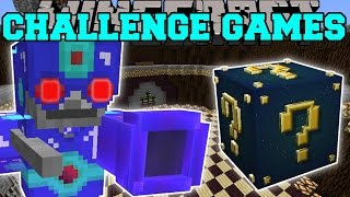 getlinkyoutube.com-Minecraft: SKELETRON CHALLENGE GAMES - Lucky Block Mod - Modded Mini-Game