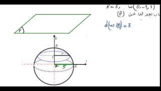 getlinkyoutube.com-دراسة وضعية مستو و سطح كرة في الفضاء