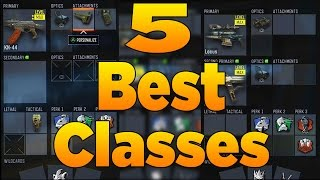 getlinkyoutube.com-5 Best Classes in Call of Duty Black Ops 3 (Best Class Setups)