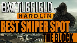 getlinkyoutube.com-Best Sniper Spot on The Block - Battlefield Hardline