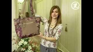 getlinkyoutube.com-062 - Ольга Никишичева. Сумка из обрезков