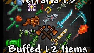 getlinkyoutube.com-Terraria 1.3, Buffed 1.2 Items