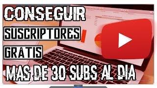 getlinkyoutube.com-Cómo Conseguir Mas Suscriptores En Youtube Hasta Un total de 30 Diarios