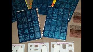 getlinkyoutube.com-Moyra stamping  plates  haul/ review