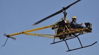 getlinkyoutube.com-HUNGARO COPTER - Hungaro Copter HC-01 at Börgönd Airshow 2013