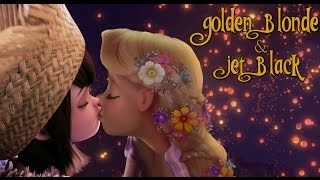 getlinkyoutube.com-Golden Blond and Jet Black {FEMSLASH}