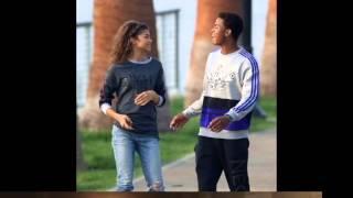 getlinkyoutube.com-Zendaya and Trevor Jackson