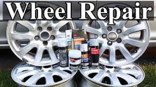 How to Repair Wheels with Curb Rash and Scratches width=