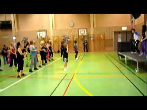 Dorotea 22/10 Zumba® Fitness event - Carlos doing