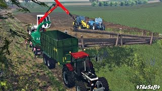 getlinkyoutube.com-Farming Simulator 15 - TMP - Forestier / Forest (AW Jenkinson)
