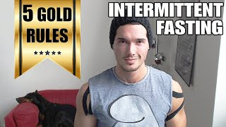 getlinkyoutube.com-How to Start Intermittent Fasting - The 5 Golden Rules of Fasting