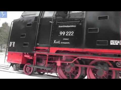 (HD) Harz Mountain Railways (HSB)  13-15th February 2012