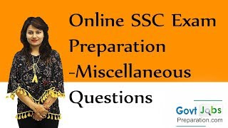 getlinkyoutube.com-Online SSC Exam Preparation-Miscellaneous Questions