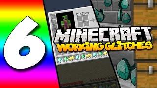 getlinkyoutube.com-6 WORKING Minecraft Glitches | Full Inventory Duplication, No Fall Damage, X-Ray