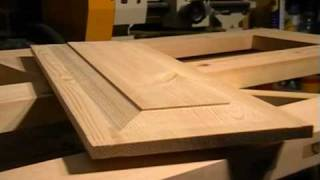 getlinkyoutube.com-DIY 4 Panel wooden Door, part 4.  raised panel cutting with a straight router