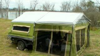 getlinkyoutube.com-Gordigear Taiga - Camper Trailer Tent