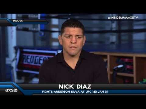 How is Nick Diaz Getting Ready for Anderson Silva?