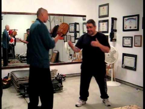 Wing Chun / Kenpo / Jeet Kune Do / Focus mitt drill