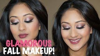 getlinkyoutube.com-Glamorous Fall Makeup with Makeup By Raji | Makeup By Megha