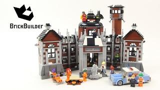 getlinkyoutube.com-Lego Batman Movie 70912 Arkham Asylum - Lego Speed Build