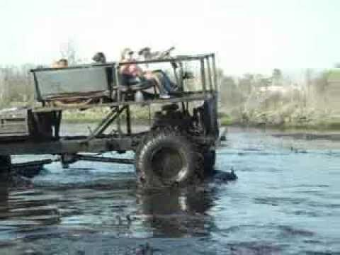 a huge bad ass chevy 4x4 buggy mudding.  very big!!