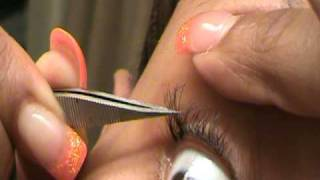 getlinkyoutube.com-How to apply individual lashes