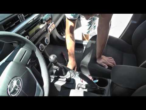 Установка чехлов Toyota Corolla New 2014