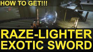 getlinkyoutube.com-Destiny: How To Get The Raze-Lighter Exotic Sword!!!