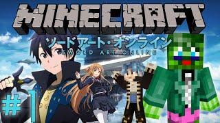getlinkyoutube.com-Minecraft Server: Sword Art Online RPG Server! - Part 1: Floor 1