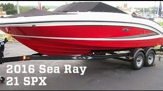 getlinkyoutube.com-EXCLUSIVE: All-New 2016 Sea Ray 21 SPX Boat For Sale at MarineMax Osage Beach
